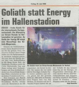 2006.06.23 20Min Goliath statt Energy